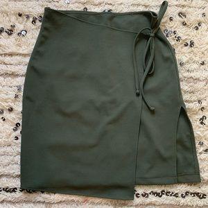 Army Green Skirt